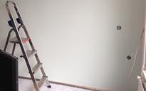 Glasvlies/scan plakken schildersbedrijf Teunissen